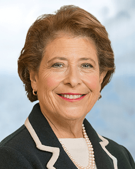 Elaine Rosen, Assurant Board Member, looking at the camera